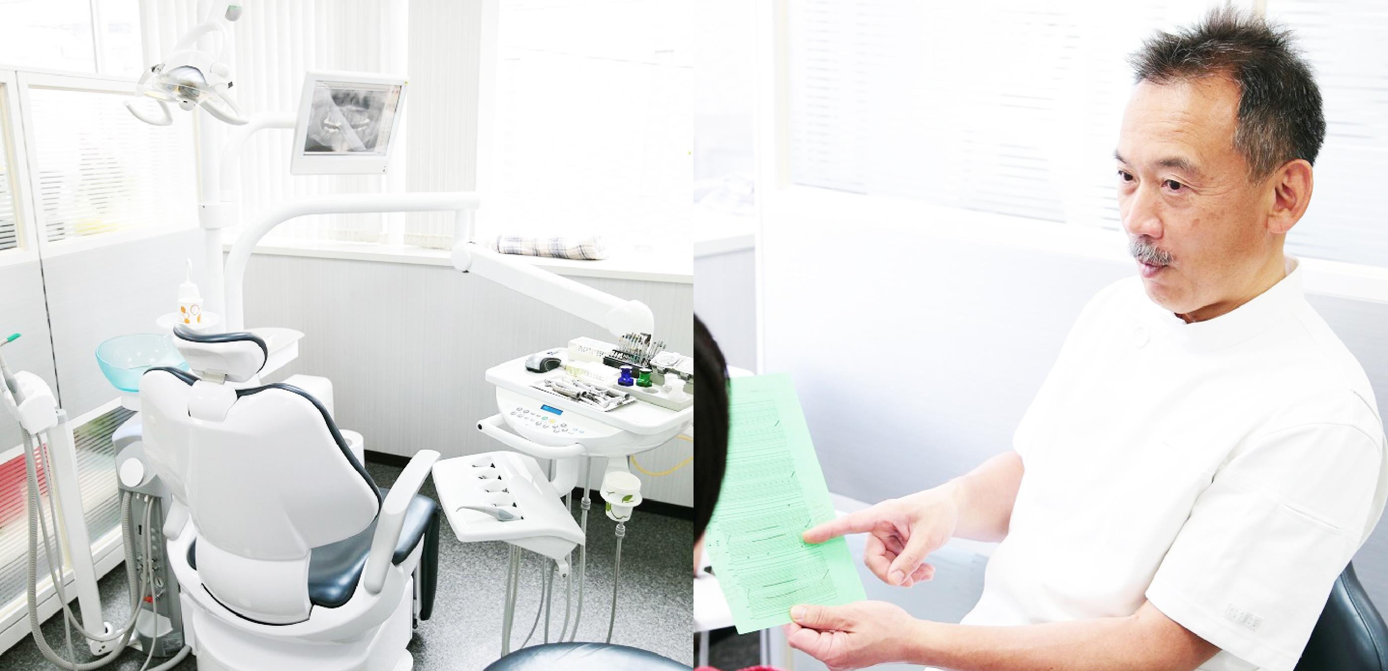 歯周専門医と日本歯周病学会認定歯科衛生士による徹底した歯周病治療残った歯を守るための長持ちするインプラント治療